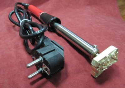 Sistema manual de termograbado