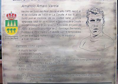 Placa Homenaje en Alumino Envejecido