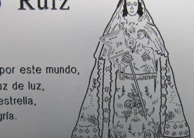 Placa Sepultura en detalle