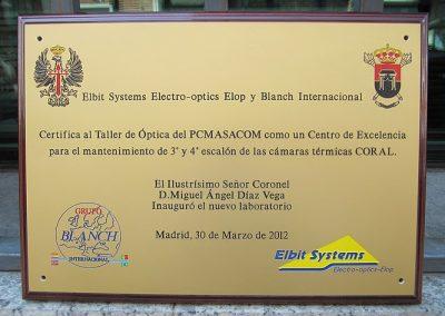 Placa Certificación